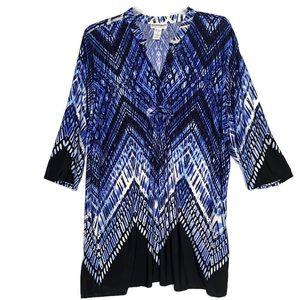 Anthropologie Serengeti Dress Tunic 3X Like New